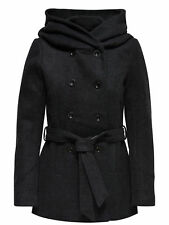 GR 88861 Nero cappotto donna only ;  mary lisa short wool coat 15136804 only - c