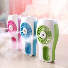 Mini Portable Handheld Fan Humidifier USB Rechargeable Mini Spraying Air Fa  CN