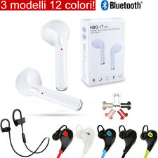 AURICOLARI CUFFIE WIRELESS SPORT BLUETOOTH 4.2 STEREO iPhone Samsung Huawei TV