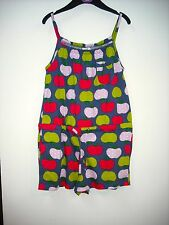 BNWOT Mini Boden Jersey Apple Playsuit Age 3 - 5 Years
