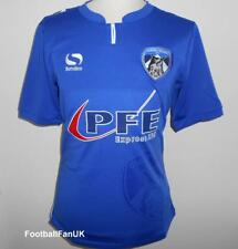 OLDHAM ATHLETIC FC Official Sondico Home Shirt 2017-2018 NEW Football Jersey