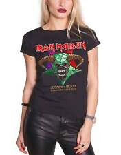Iron Maiden T Shirt Legacy of The Beast European Tour 2018 Official Womens New
