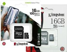Micro SD 16 GB 16 GB 16 GB 16 GB 16  Scheda Memoria CLASS 10 Kingston MicroSD