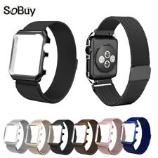 Lxsmart Milanese Loop Strap Stainless Steel band For  Watch  42 mm 38 wristba...