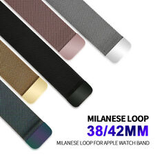 Milanese Loop For  Watch band strap 42mm/38mm Stainless Steel Link Bracelet w...