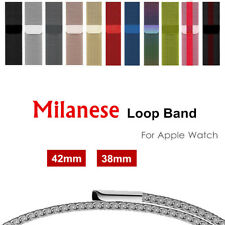 Milanese loop for  watch band strap 42mm 38mm  series 3/2/1 band Stainless St...