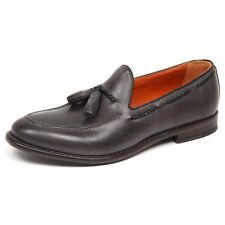 E6650 mocassino uomo grey ALTIERI MILANO scarpe vintage loafer shoe man
