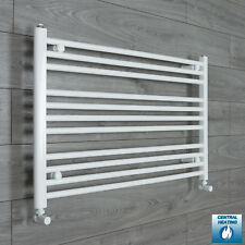 1100mm Wide Towel Rail Rad Central Heating Bathroom Radiator Kitchen Warmer Rack