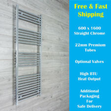 Central Heating Towel Rail Rad Central Heating Bathroom Radiator 600mm Wide NEW