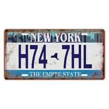 9Style License Plate Retro Metal Mine Tin Sign Wall Door Plaque For Bar Pub