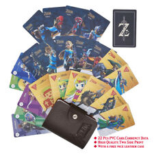 Champion 22Pcs PVC NFC Tag Game Cards Zelda BOTW 20 Heart Wolf Link For Switch