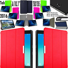 "Leather Hard Smart Shell Case Cover Samsung Tablet A6 10.1"" P585 T585 P580 T580"