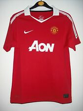 BNWT The Official (NIKE) Home Manchester United Football Shirt. Age 10-12  Years