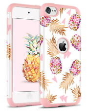 For iPod Touch 5th 6th Gen Hard Shockproof Case Pineapple Glossy Protect Cover