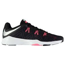 Nike Zoom Condition Fitness Training Shoes Womens Black/Silver/Red Gym Sneakers