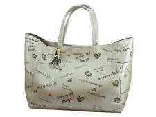 Shopping Bag & Play Desigual Tell Me Cuenca in ecopelle beige
