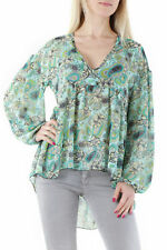 GR 72758 Verde blusa mujer sexy woman sexy woman mujer blusa hecho en italy: ma
