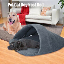 Pet Cat Dog Comfortable Nest Bed Puppy Soft Warm Cave House Sleeping Bag Mat Pad