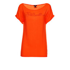 PR 115469   JUST CAVALLI T-SHIRT DONNA ORANGE