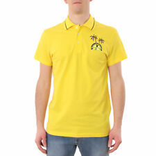 PR 115457   JUST CAVALLI POLO UOMO YELLOW