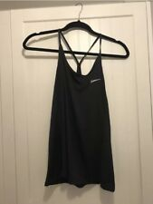 BRAND NEW NIKE DRY MILER TANK TOP WOMEN'S BLACK SIZE LARGE