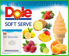 Dole Soft Serve Mix Fruit Flavors Frozen Treats Dessert Dairy Gluten Fat Free