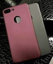 Vruno Guardian Series Soft Elastic Thin Light Back Cover For iPhone X, 8, 7, 6
