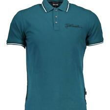 PR 124933   JUST CAVALLI POLO UOMO VERDE