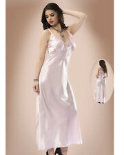 Women Pale Pink Satin and Lace Nightdress    European Products