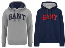GANT Sweat à capuche gris à capuche Embrodery sweat