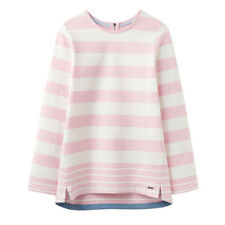 Joules Clemence Crew Neck Sweat Cool Pink Stripe