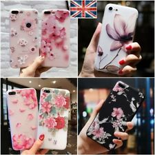 Ultra Thin Flower Pattern Soft Shockproof Case Cover For iPhone 6 7 8 Plus 5s SE