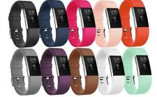 Wristband For Fitbit Charge 2 Smart Watch HR Replacement Sporting Yoga 10 Pack