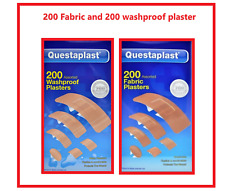 400 ASSORTED BANDAGE PLASTERS WATERPROOF OR FABRIC BREATHABLE PLASTER Dressing