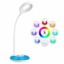 Desk Lamp,led Dimmable Eye-caring Reading Lamp Usb Rechargeable Touch Control 3-