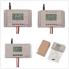 10A 20A 30A LCD MPPT Solar Panel Battery Regulator Charge Controller 12V/24V WD