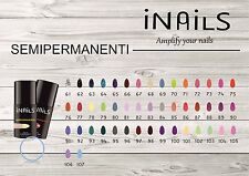 iNails GEL POLISH 5ML SMALTO SEMIPERMANENTE RICOSTRUZIONE UNGHIE GEL UV LED