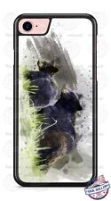 Black Bears Art Work Phone Case for iPhone Samsung LG Google HTC Moto etc