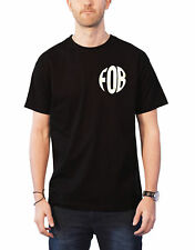 Fall Out Boy T Shirt Young And Menace Mania Band Logo new Official Mens Black