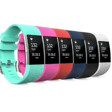 6 Pack Strap For Fitbit Charge 2 Smart Watch Band Fitness Wristband Bands Yoga