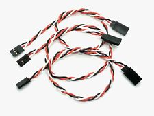 """3pcs 12.5""""/16.5"""" Servo Extension Lead Wire Cable 3 Pin Male to Female for Futaba"""