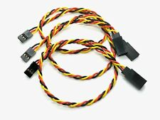"3pcs 12.5"" or 16.5"" Servo Extension Lead Wire Cable 3 Pin Male to Female for JR"