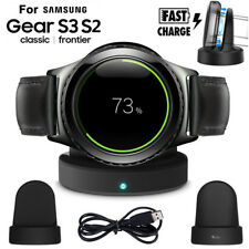 Wireless Charging Dock Cradle Charger For Samsung Gear S3/S2 Classic Smart Watch