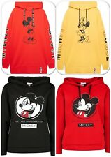 Mickey and Minnie Mouse Official Disney Ladies Oversize Hoodie Sweatshirt Top