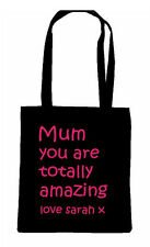 MOM MUMMY MOTHER MUM TOTE SHOPPING BAG PERSONALISED WORLDS BEST MOTHERS DAY LOVE