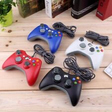 Hot Xbox 360 Controller USB Wired Game Pad For Microsoft Xbox 360 PC 4 Colors