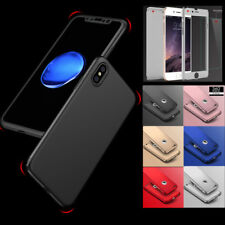 Hybrid New Shockproof Case Tempered Glass Cover For Apple iPhone 8 7 6 5 Plus X
