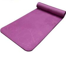 Fitness Mat 15mm Slim Printing Yoga Non Slip Thickening Exercise Pad Lose Weight
