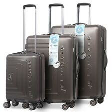Aerolite Lightweight ABS Hard Shell 8 Wheel Cabin & Hold Luggage Suitcase & Sets