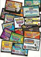 Pokemon BLACK & WHITE Series TCG ONLINE Booster CODES - EMail - free Shipping